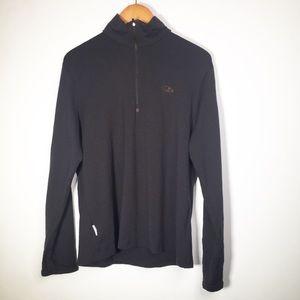 Icebreaker XL Wool Long Sleeve 1/4 Zip